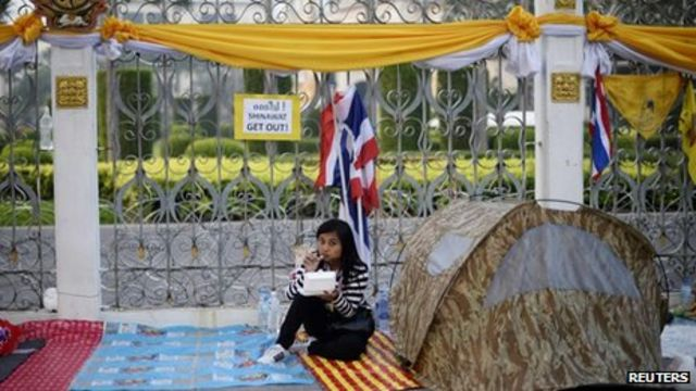 Thailand protests: PM Yingluck rejects resignation call