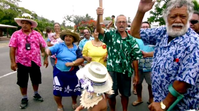 Commonwealth baton celebrations in the Cook Islands