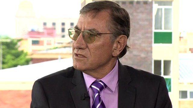 Former South African Police Commissioner George Fivaz
