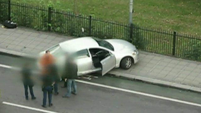 Scene of Mark Duggan's death