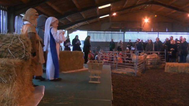 Francis Baily Primary's nativity play