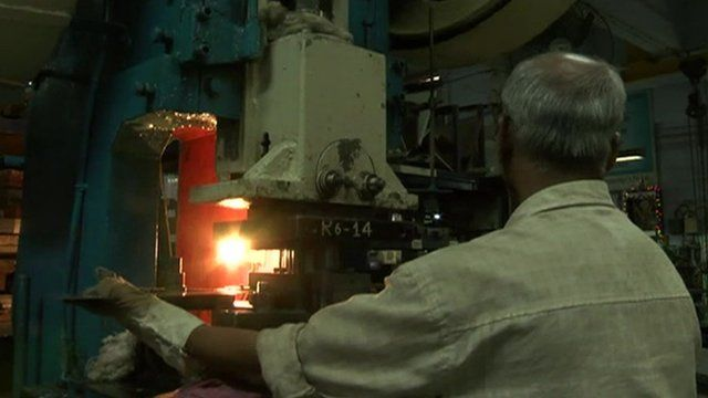 Indian factory interior