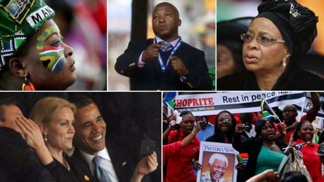 Mandela death: 10 moments from the week