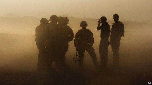 British soldiers - generic image
