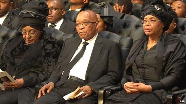 Nelson Mandela statue unveiled in Pretoria by Zuma
