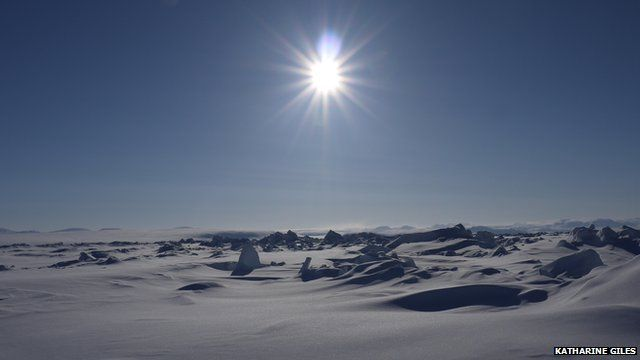 Sea ice - Katharine Giles