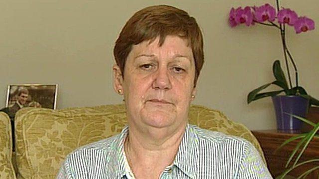 Jane Nicklinson, widow of Tony.