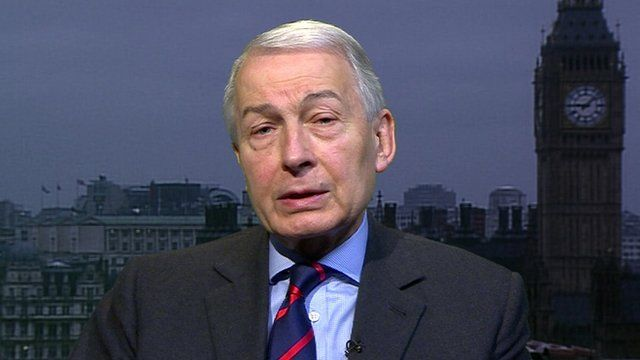Labour MP Frank Field