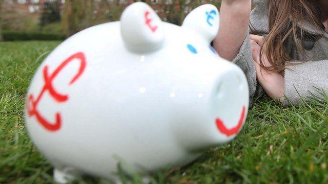 Child's piggy bank