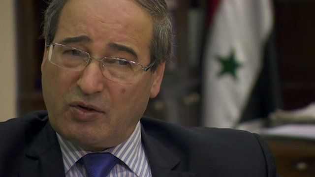 Syria's Deputy Foreign Minister Faisal Mekdad