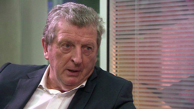 England football manager Roy Hodgson