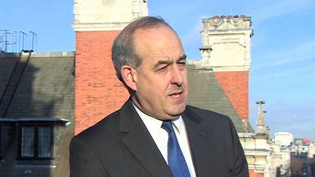 Shadow immigration minster David Hanson MP