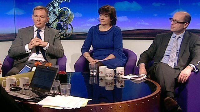 Chris Bryant, Nicky Morgan and Nick Robinson