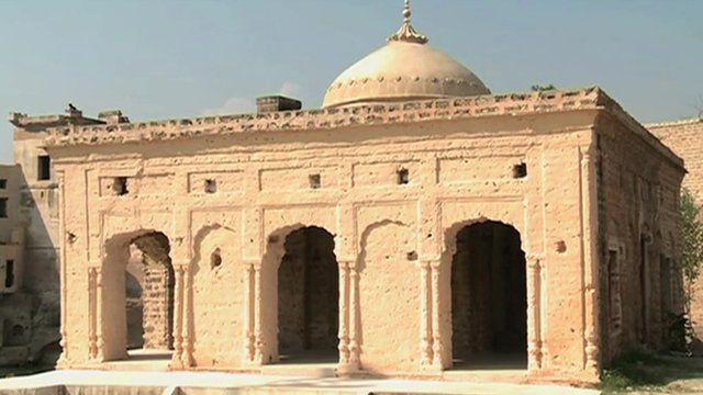 The Katasraj temple in Chakwal region of Punjab province in Pakistan