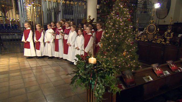 Derby Cathedral choir