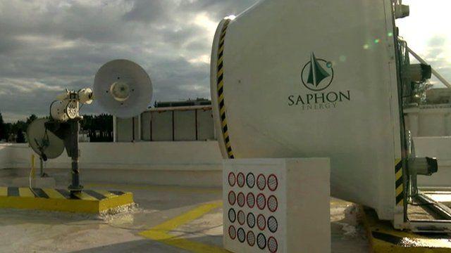 New type of wind turbine