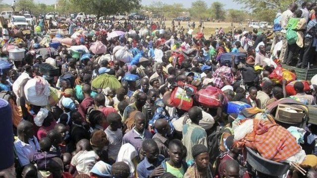 UNMISS compound in Bor, capital of Jonglei state