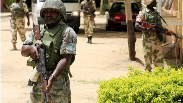 Nigerian military 'kills Bama attackers'