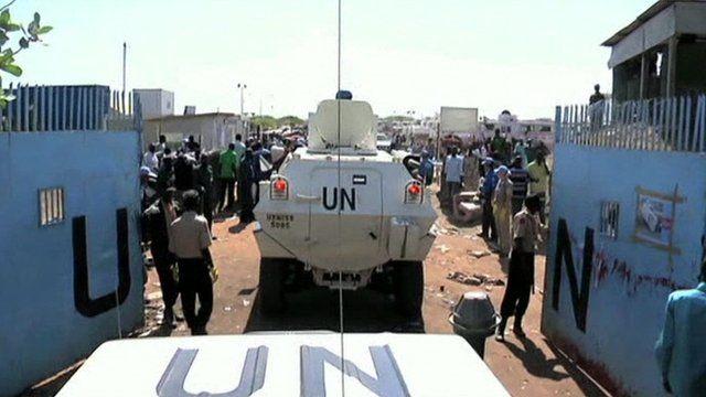 UN compound