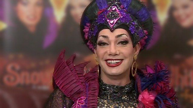 Craig Revel Horwood as the Wicked Queen in Snow White