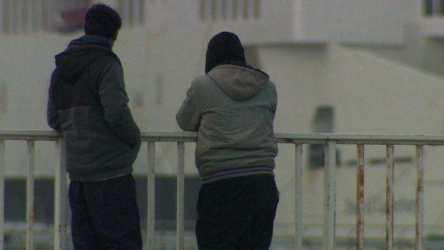 Men in Calais