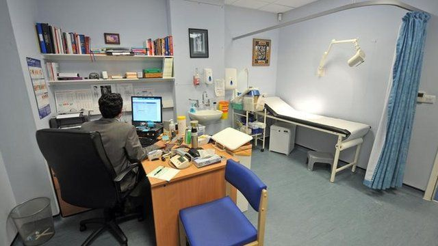A GP's consulting room