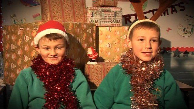 Children from Derbyshire