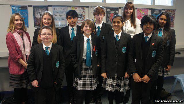 The Compton School's School Report team