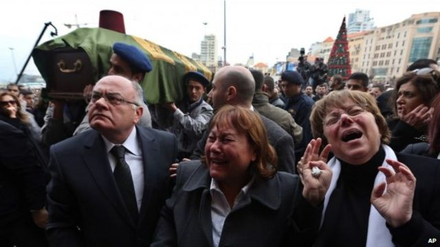 Beirut blast: Ex-minister Mohamad Chatah buried