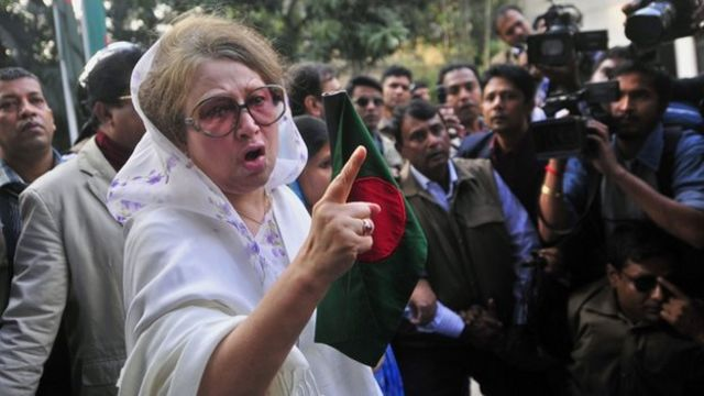 Bangladesh activists clash with police at polls protest