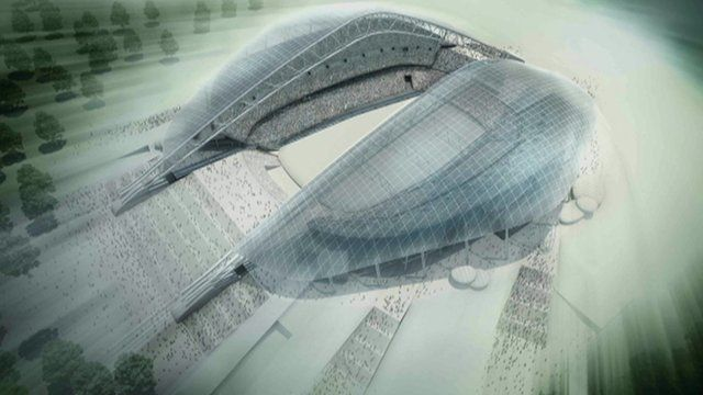 Design for Olympic venue