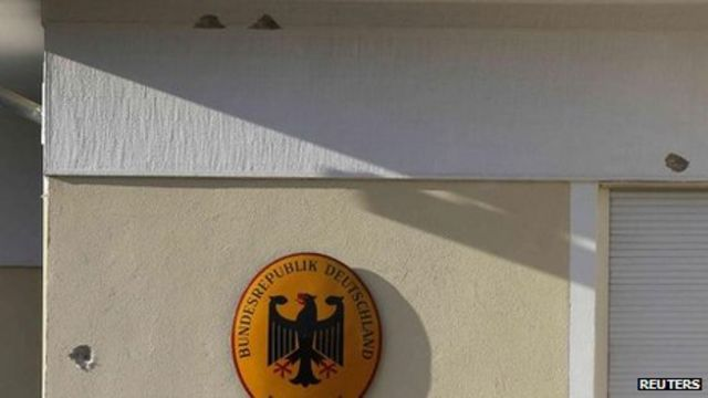 Shots fired at German ambassador's home in Athens
