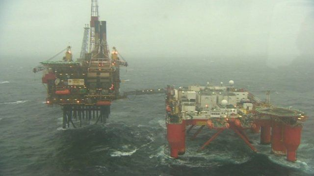Offshore energy rig