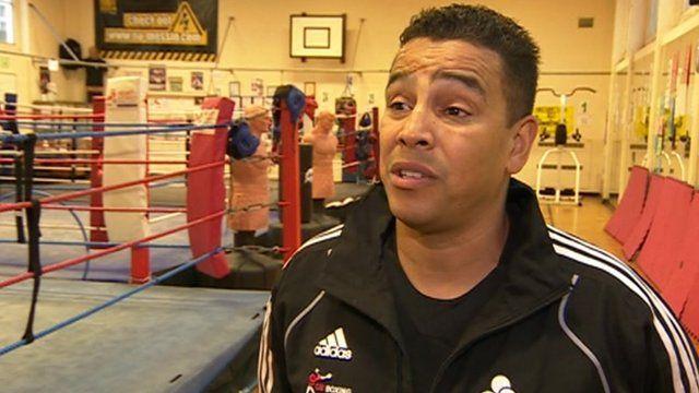 Hampshire boxing coach Quinton Shillingford