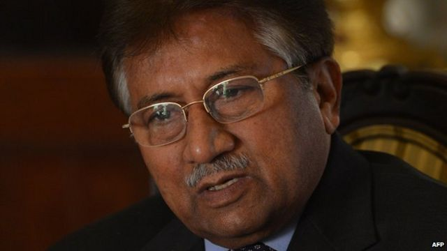 Pakistan's Musharraf not in court for treason trial