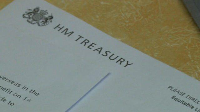 HM Treasury compensation letter