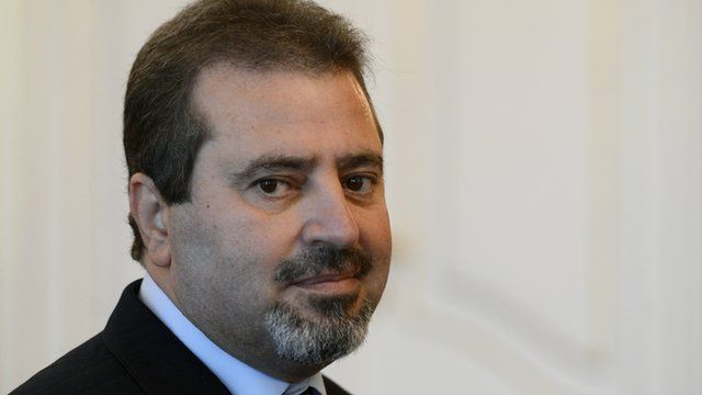 Palestinian diplomat Jamal Al-Jamal who was killed in an explosion in Prague