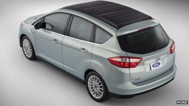Ford reveals solar-powered car with sun-tracking technology