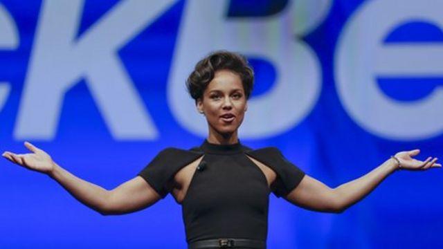 Alicia Keys to end Blackberry creative role