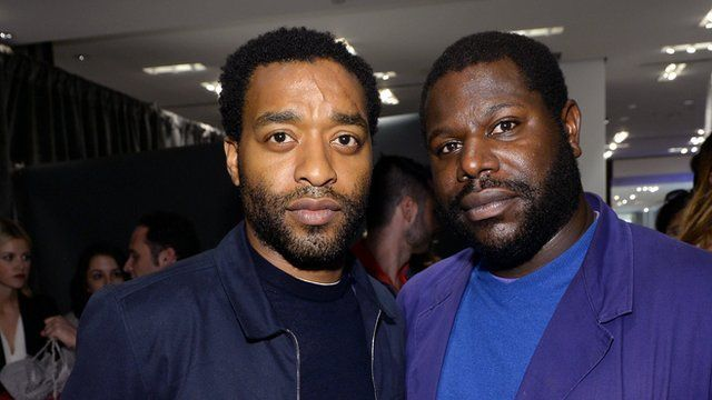 Actor Chiwetel Ejiofor and director Steve McQueen