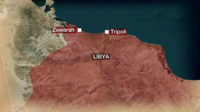 Map of Libya