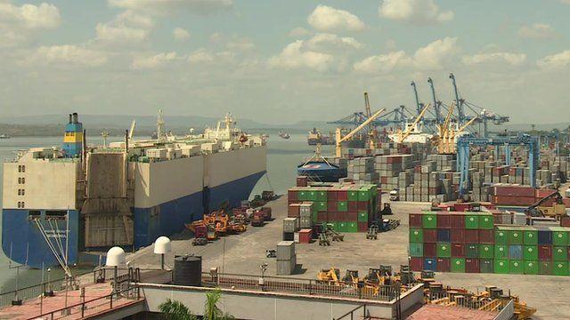 Mombasa's port
