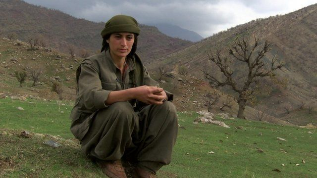 Female PKK commander