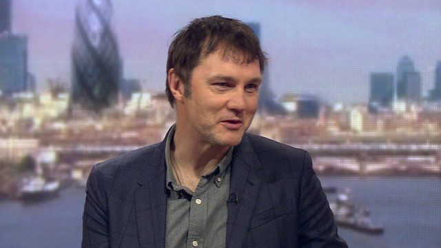 Actor David Morrissey on The Andrew Marr Show