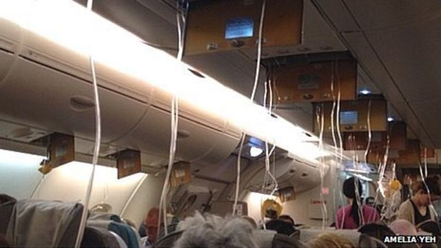 Singapore Airlines A380 plane in emergency landing