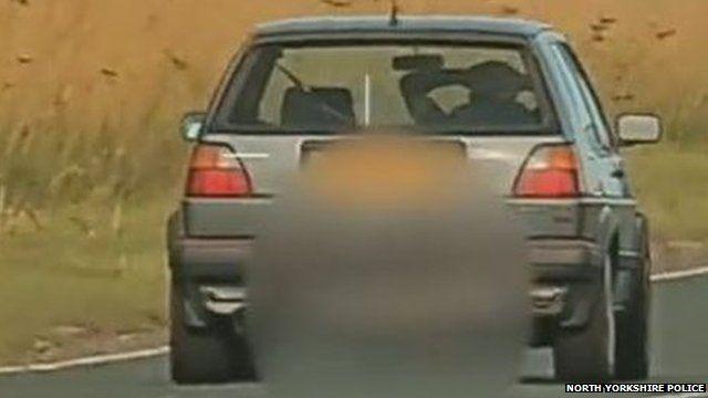 Police camera footage