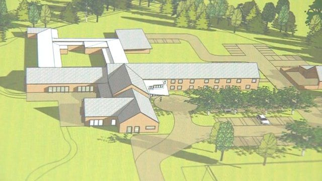 Artist's impression of the new hospice