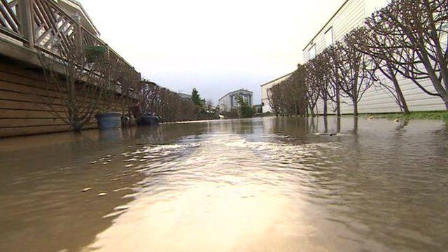 Flooding in Yalding