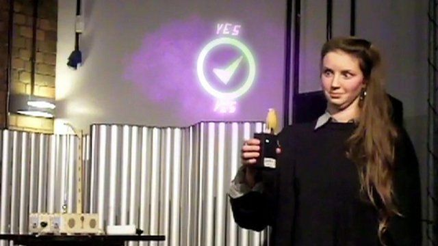 Using technology for a magic trick