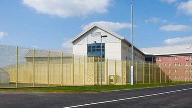 Artist impression of super-prison